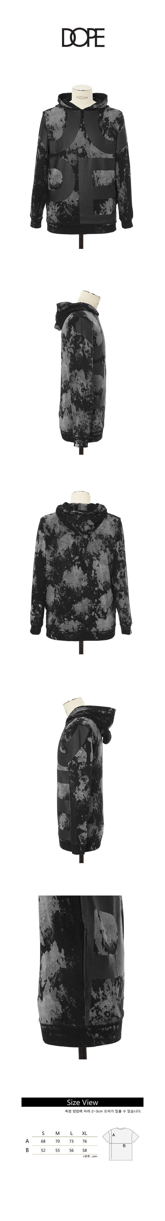 도프 Cloud Wash Oversize Print Pullover