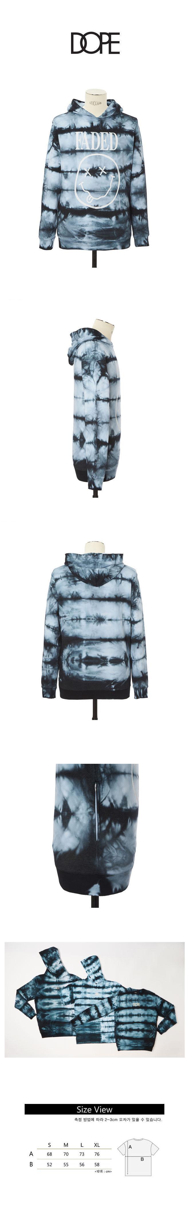도프 Tie-Dye Faded Pullover