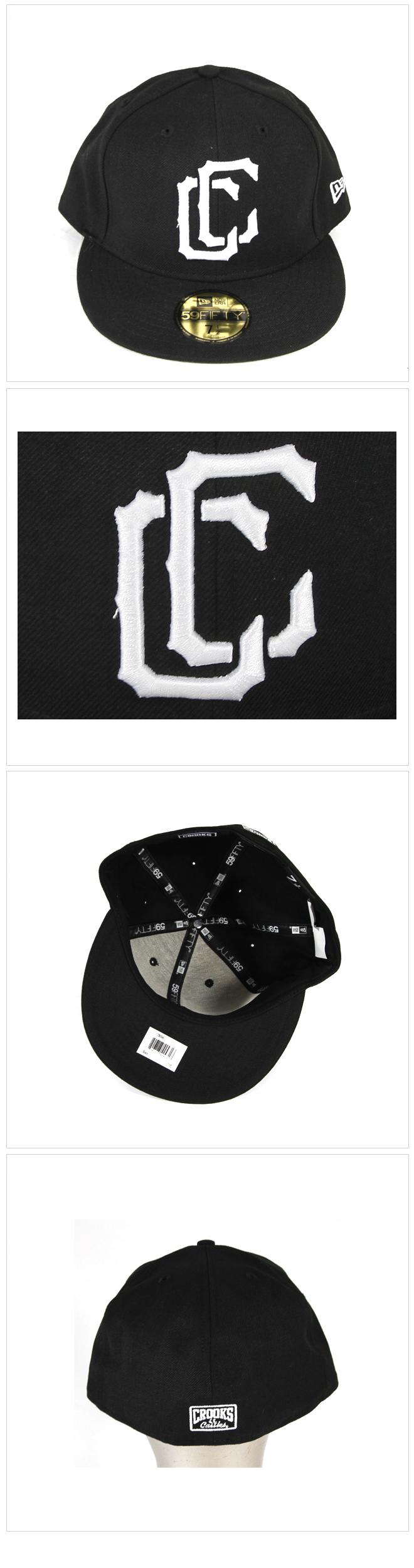 [크룩스앤캐슬] CROOKS & CASTLES Claw Fitted Cap