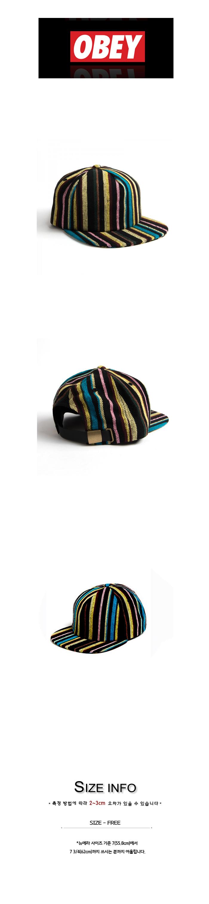 OBEY TANGIER HAT BLACK