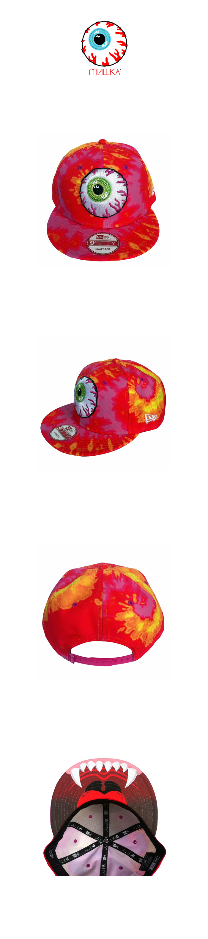MISHKA Keep Watch New Era Snapback [1]