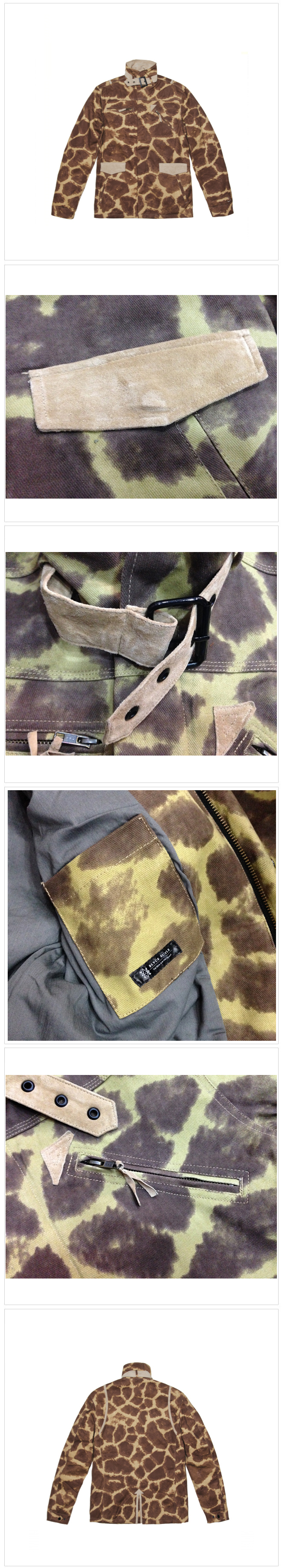 블랙스케일 BLACK SCALE TUT JACKET (CAMO)