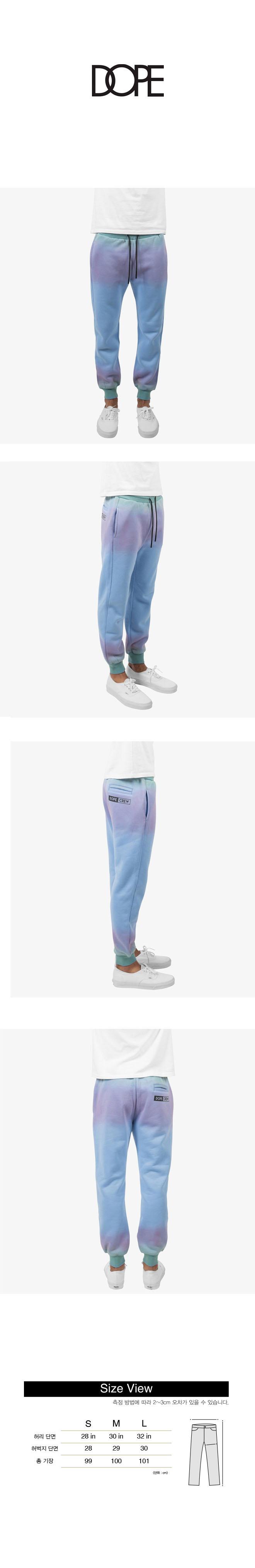 DOPE Crew Tour Sweatpants BLUE