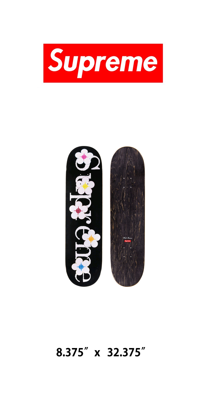 슈프림(SUPREME) SUPREME Flowers Skateboard