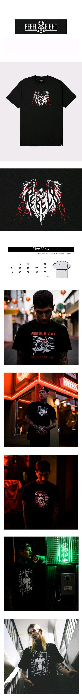 레벨8(REBEL8) REBEL8 x James Jirat Phantasm Tee