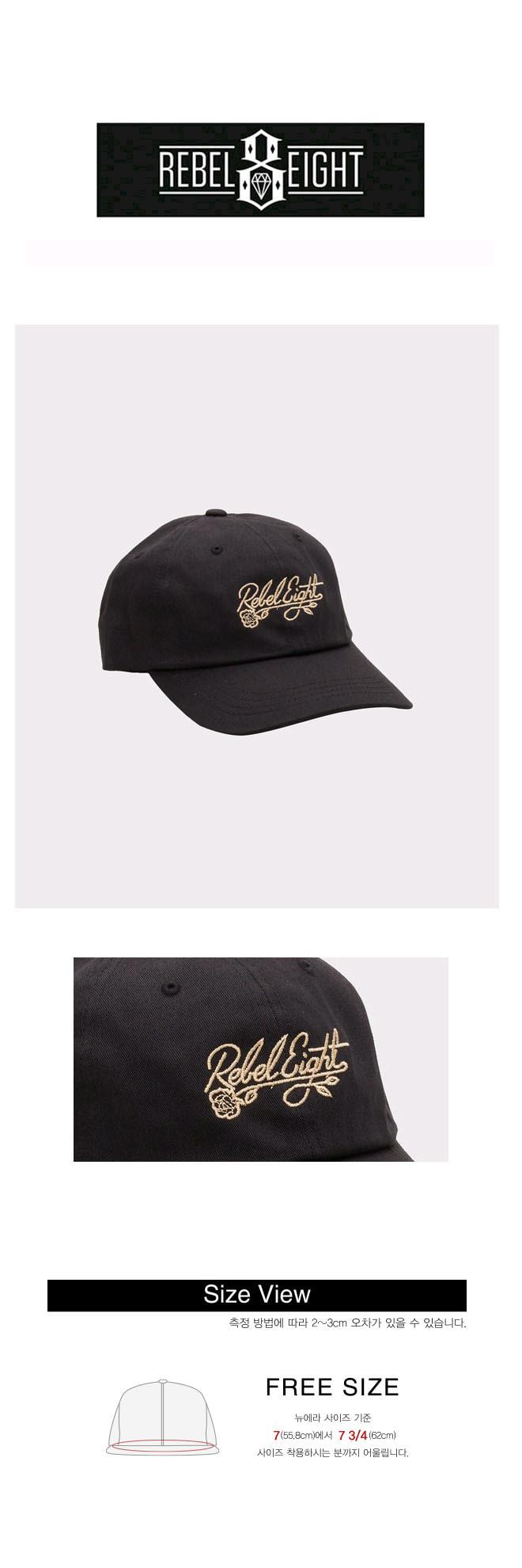 레벨8(REBEL8) REBEL8 FLORET DAD HAT