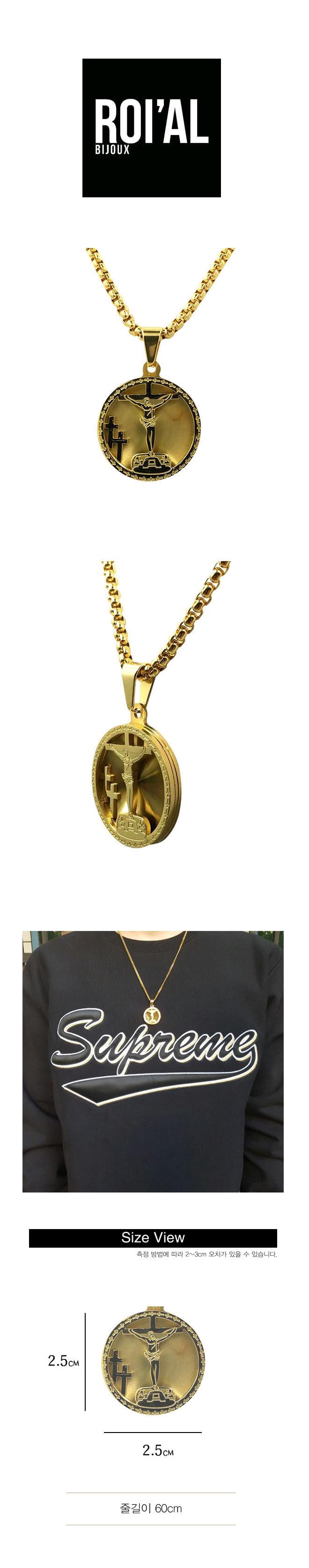 로이알(ROI'AL) ROIAL 3 Crosses Necklace