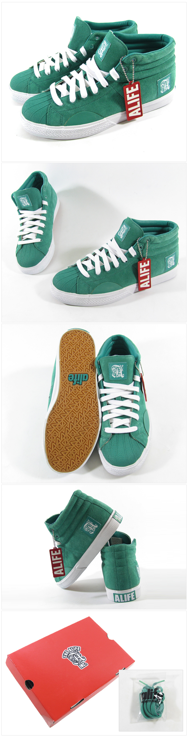 ALIFE SHELL TOE SUEDE [1]
