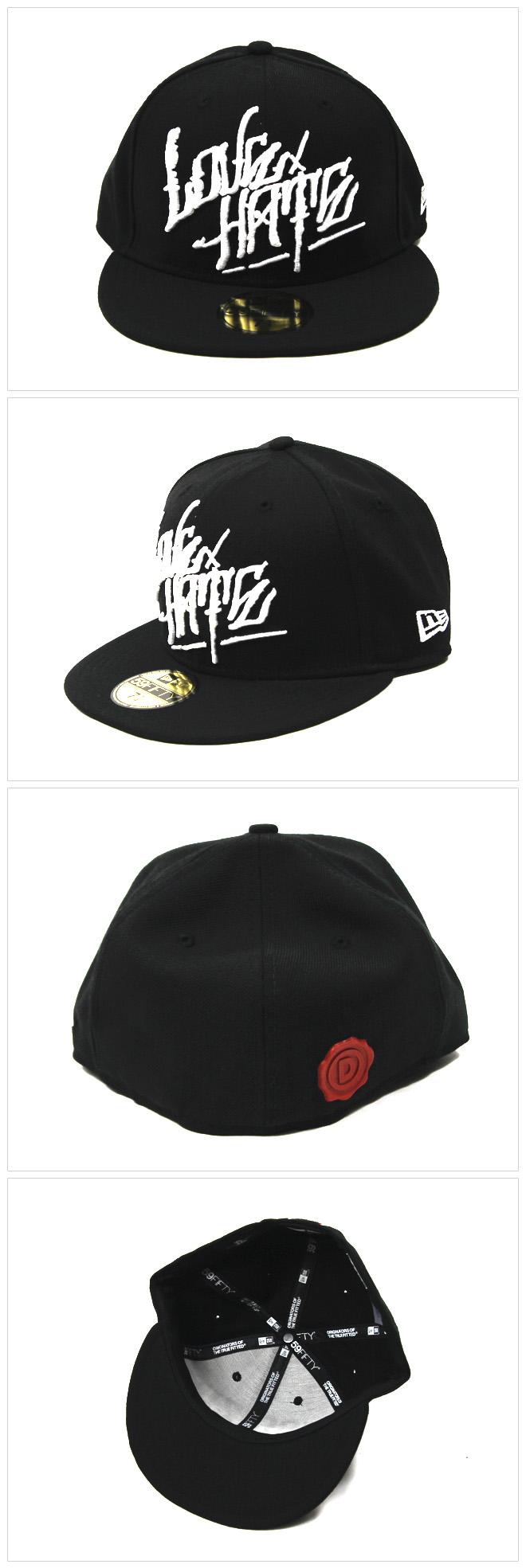 [디씨짓] DISSIZIT! LOVE HATE NEW ERA CAP