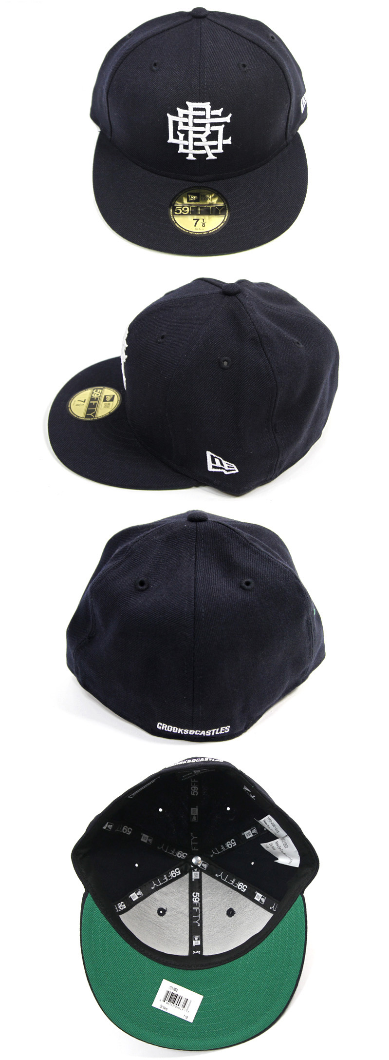 [크룩스앤캐슬] CROOKS&CASTLES CRKS MONOGRAM NEW ERA